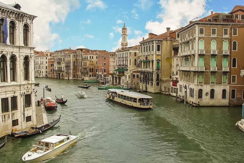 Posizionamento Siti Venezia